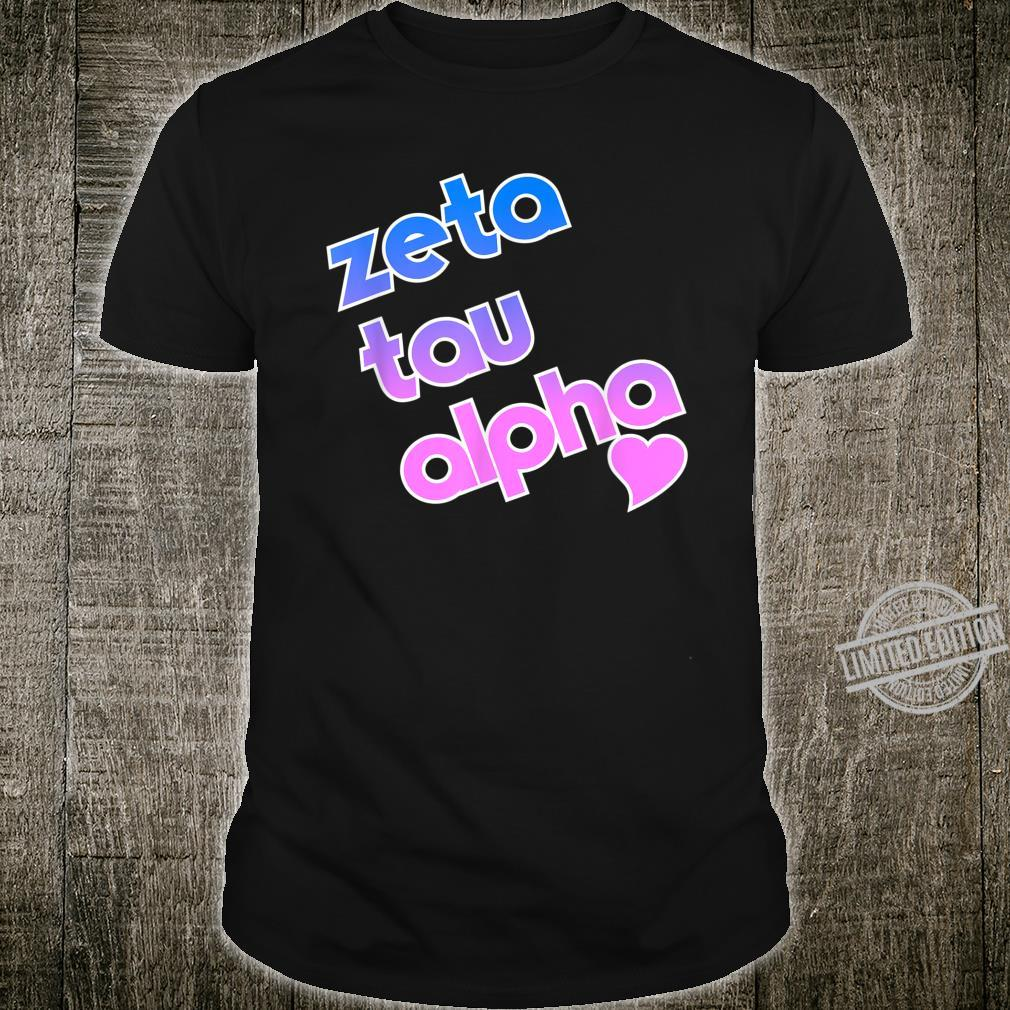 ZTA Heart Valentine's Day Fade Shirt